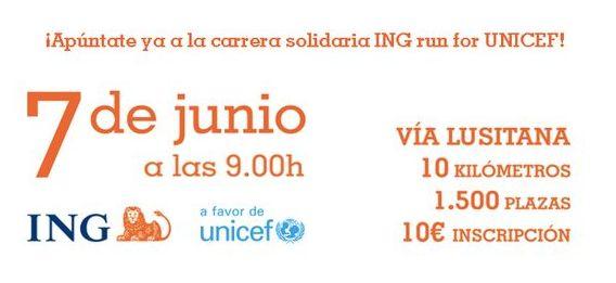 ING RUN FOR UNICEF - XXIV Carrera Urbana de Carabanchel - 7 Junio - 2015