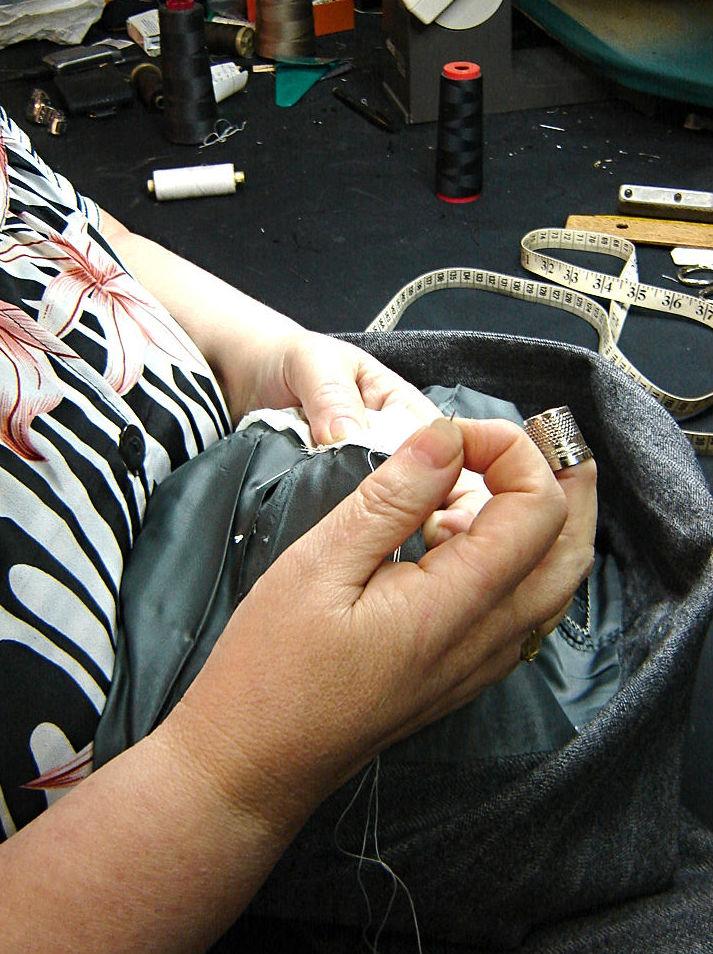 Arreglos de ropa en general