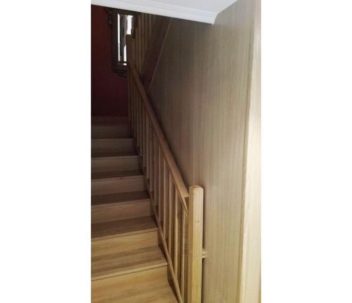 Cerramiento de escalera