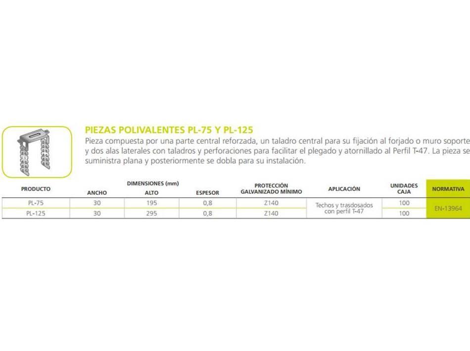 Pieza Polivalente: Materiales - Distribuciones de AISLAMIENTOS LORSAN