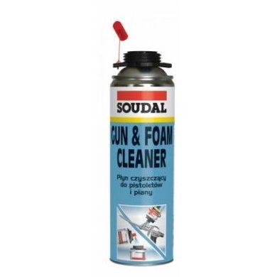 Soudal Gun & Foam Cleaner: Materiales - Distribuciones de AISLAMIENTOS LORSAN