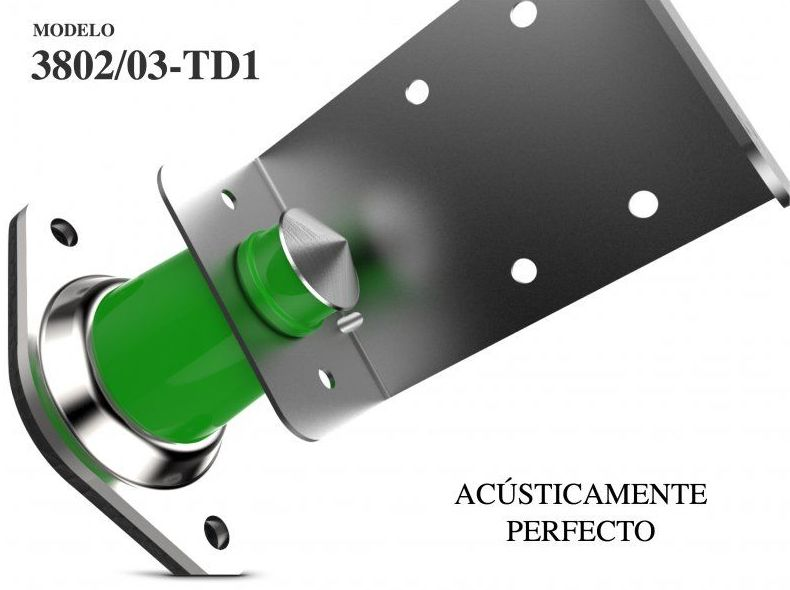 Aislador acústico Pared Mod.3802: Materiales - Distribuciones de AISLAMIENTOS LORSAN