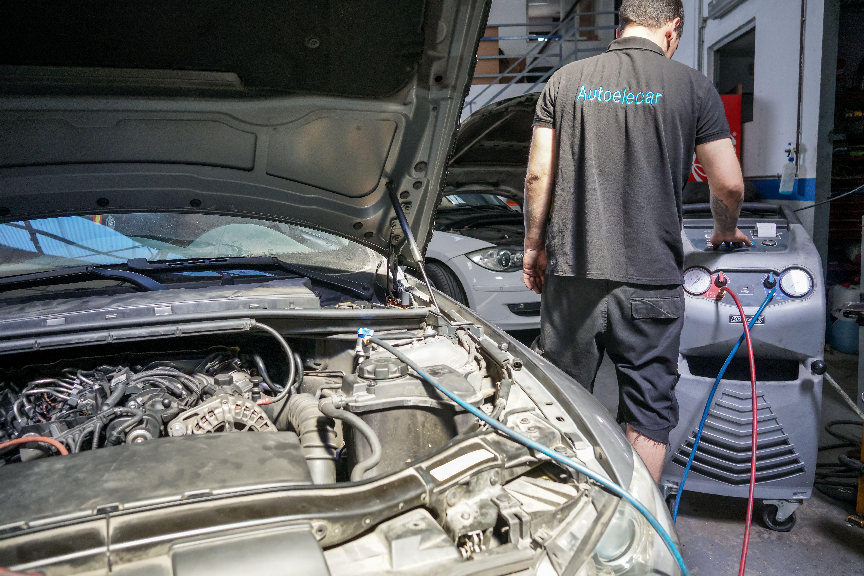 Revisión de un vehículo