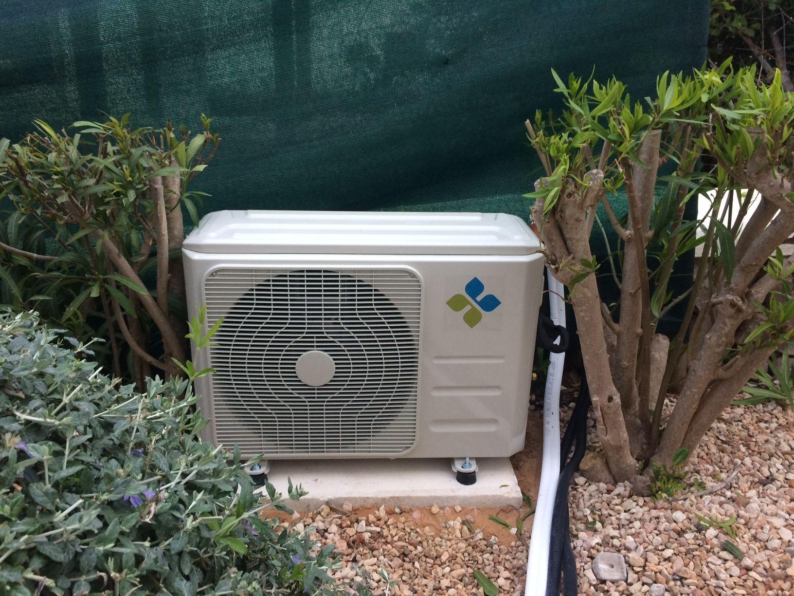 Climatización y electricidad en Menorca