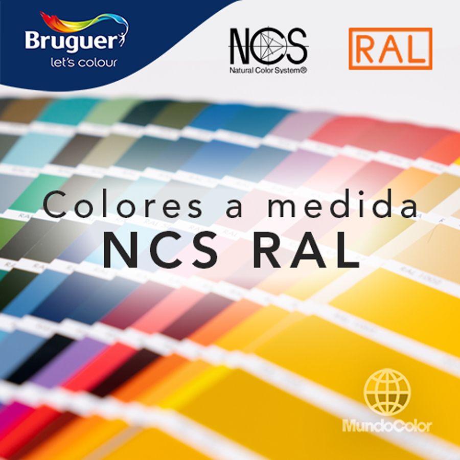 Colores a medida NCS y RAL