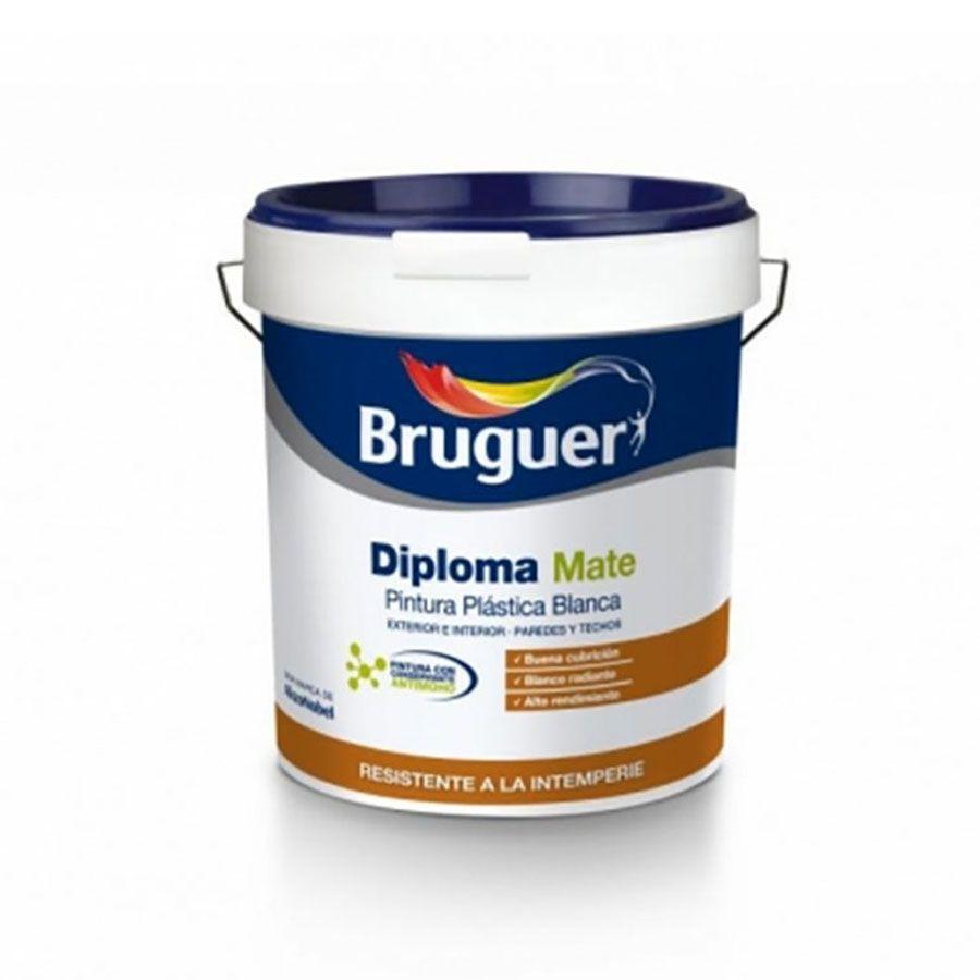 Pintura blanca Diploma Mate Bruguer
