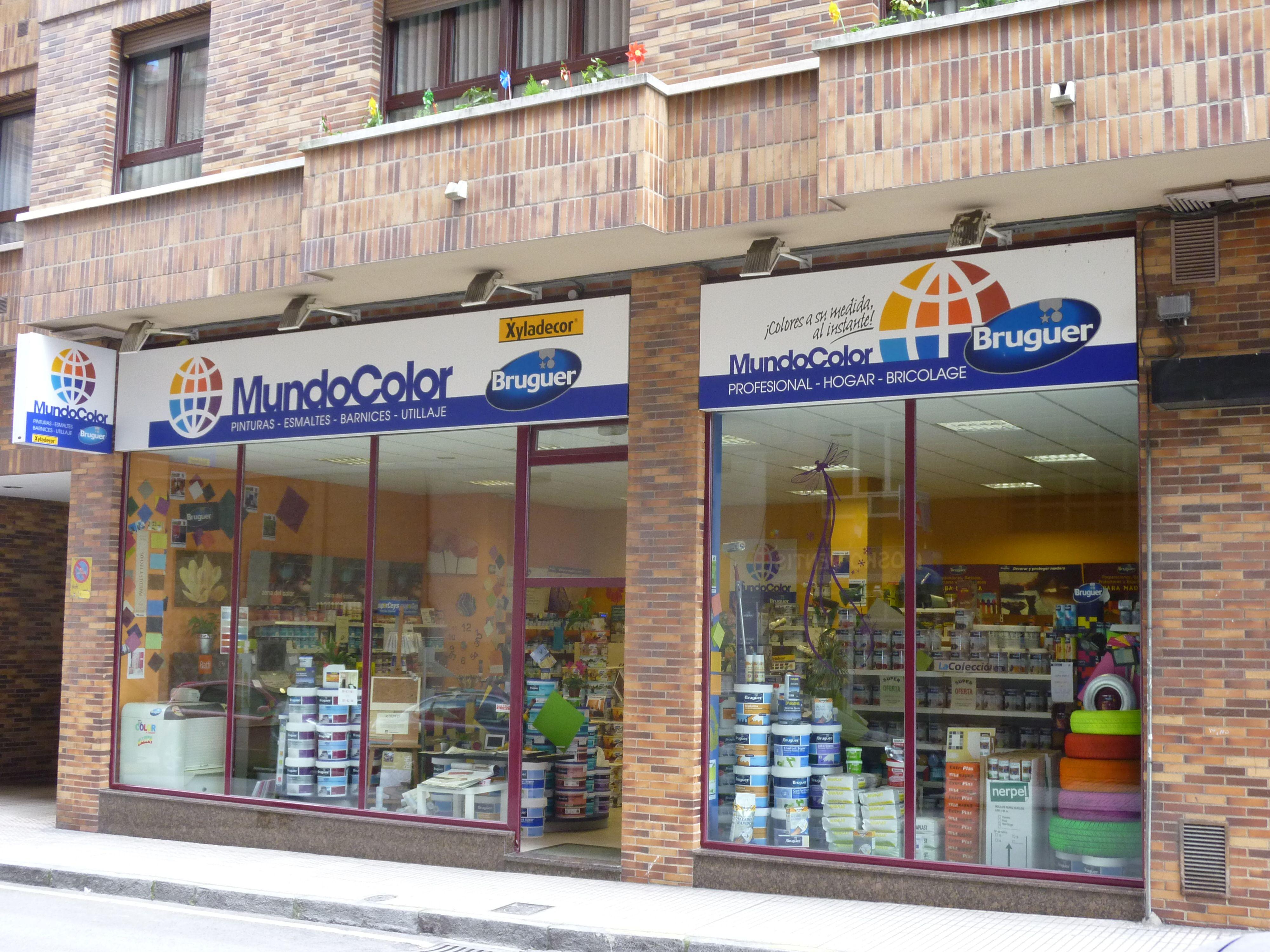 Tienda de pinturas Gijon