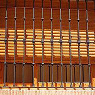 Cerramiento imitación madera