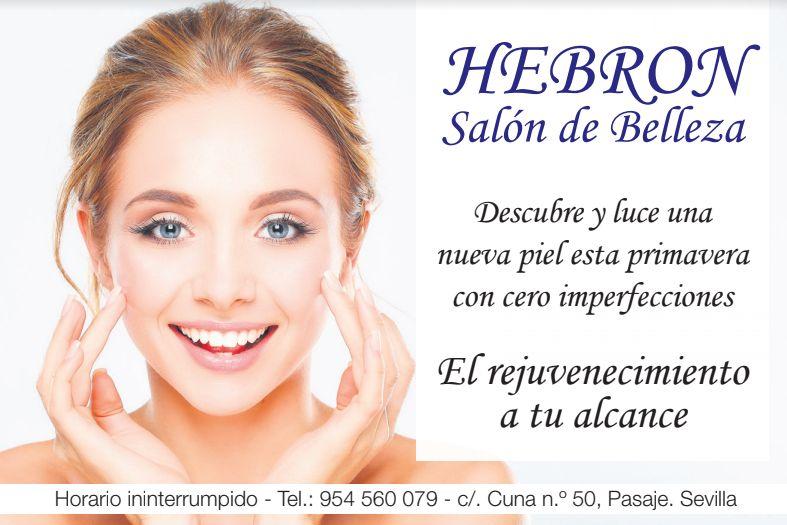 Foto 5 de Centro de estética en    Salón de Belleza Hebrón SL