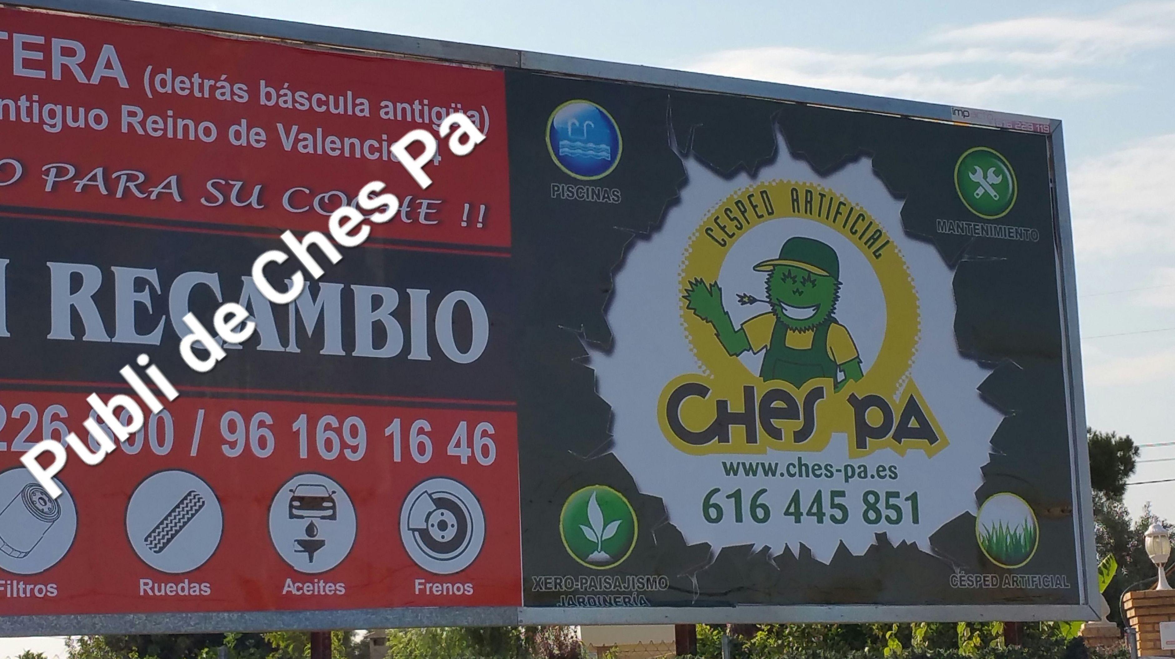 Publicidad Ches Pa