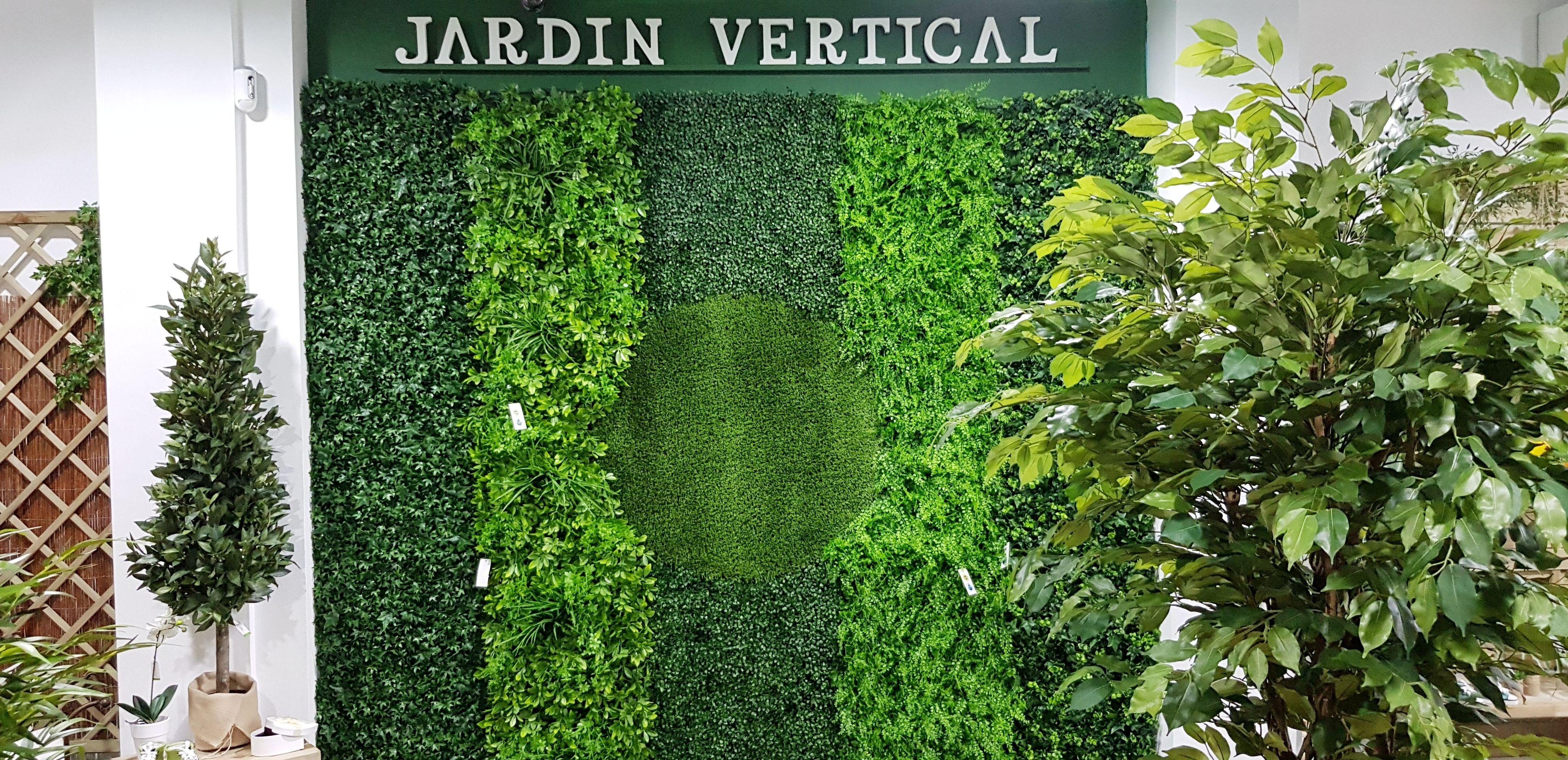 Modelos de jardín vertical para exterior
