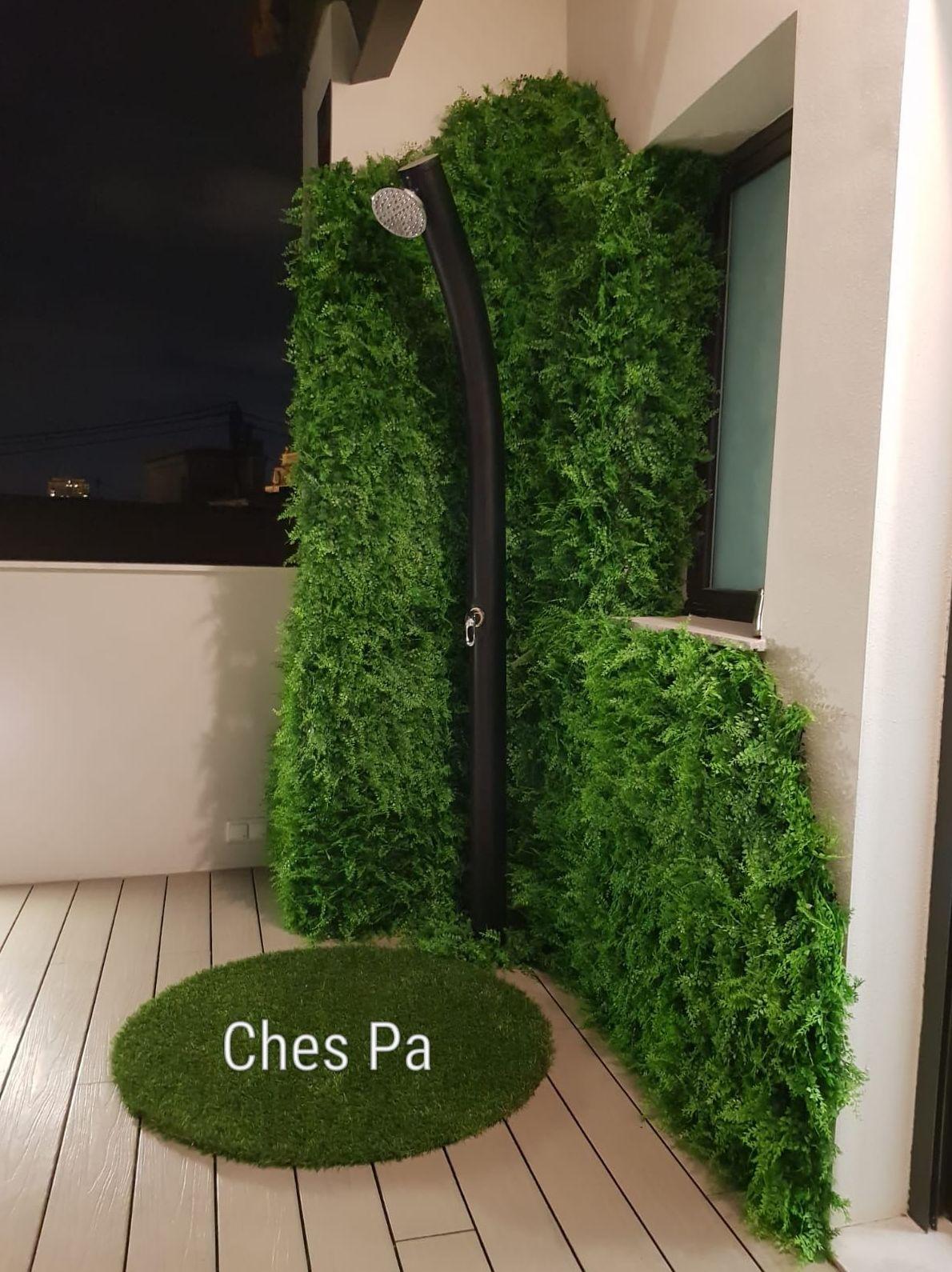 Jardín vertical artificial en Valencia
