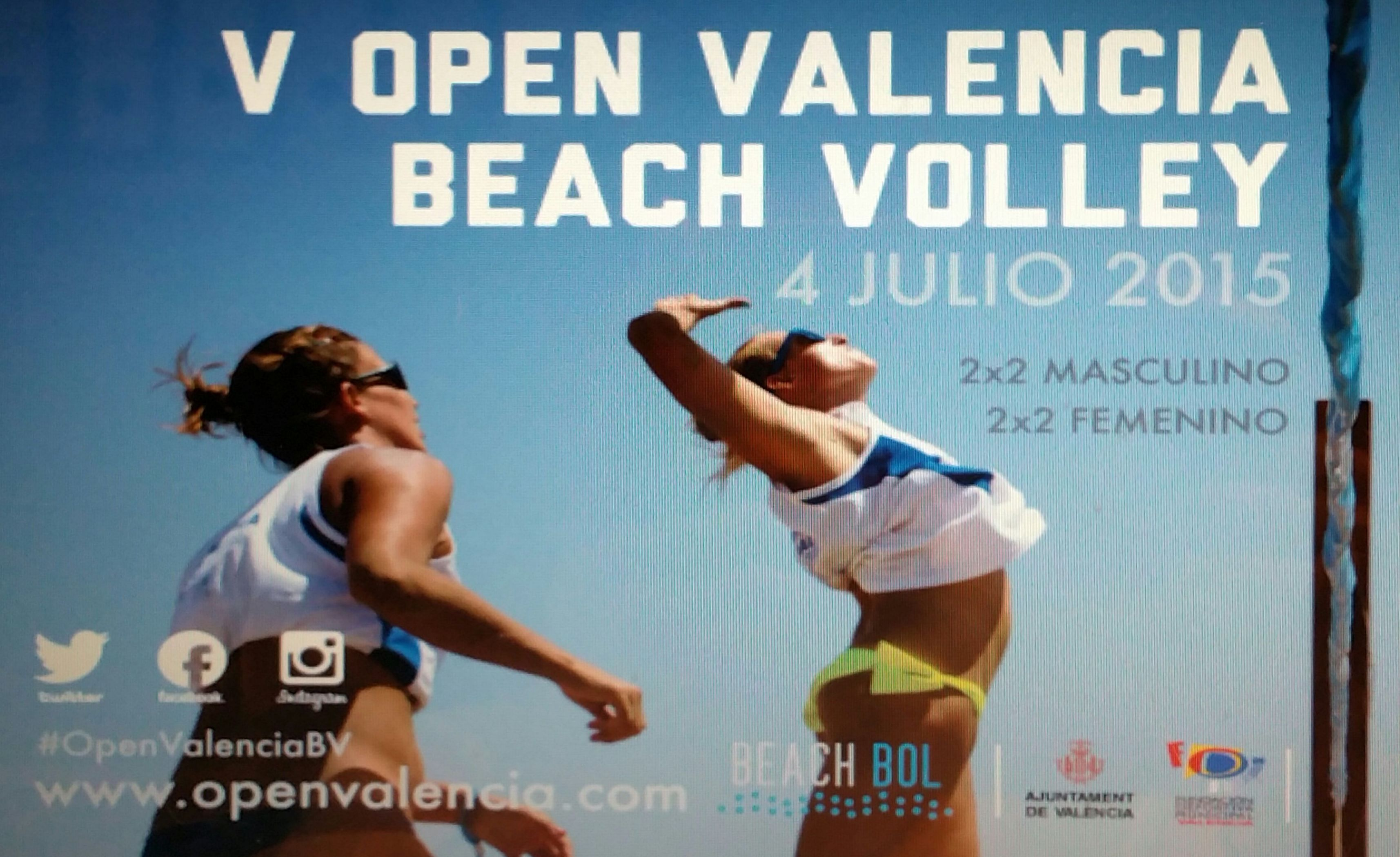 Ches Pa, colaborador V OPEN VALENCIA BEACH VOLLEY