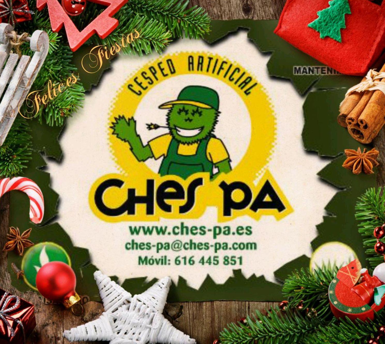 El equipo de Ches Pa, os desea unas Felices Fiestas.