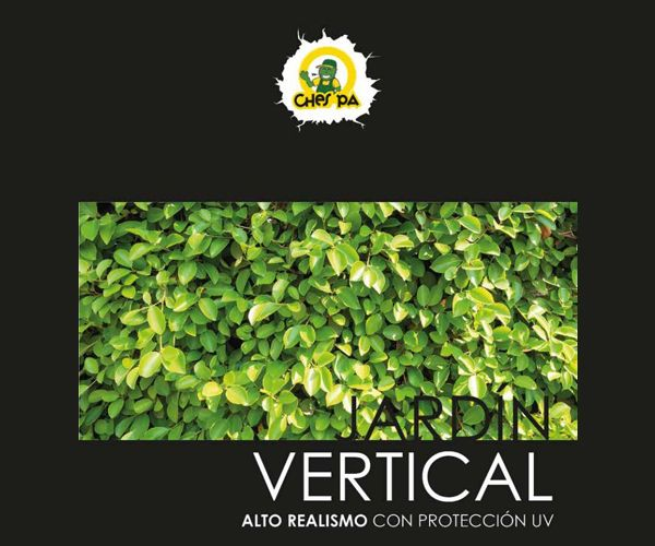 Jardines verticales: ¿Qué hacemos? de Ches Pa, S.L.