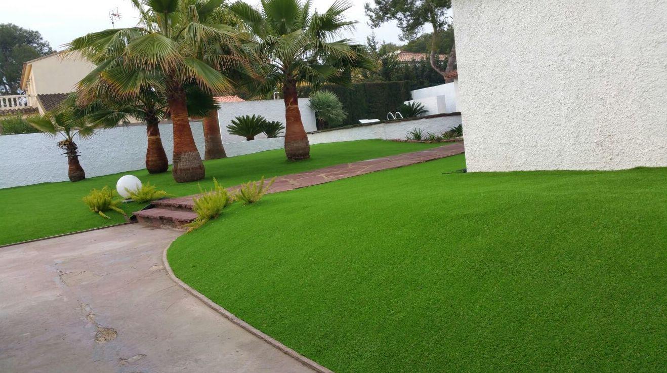 Proyecto paisajiamo en jardín particular en Valencia
