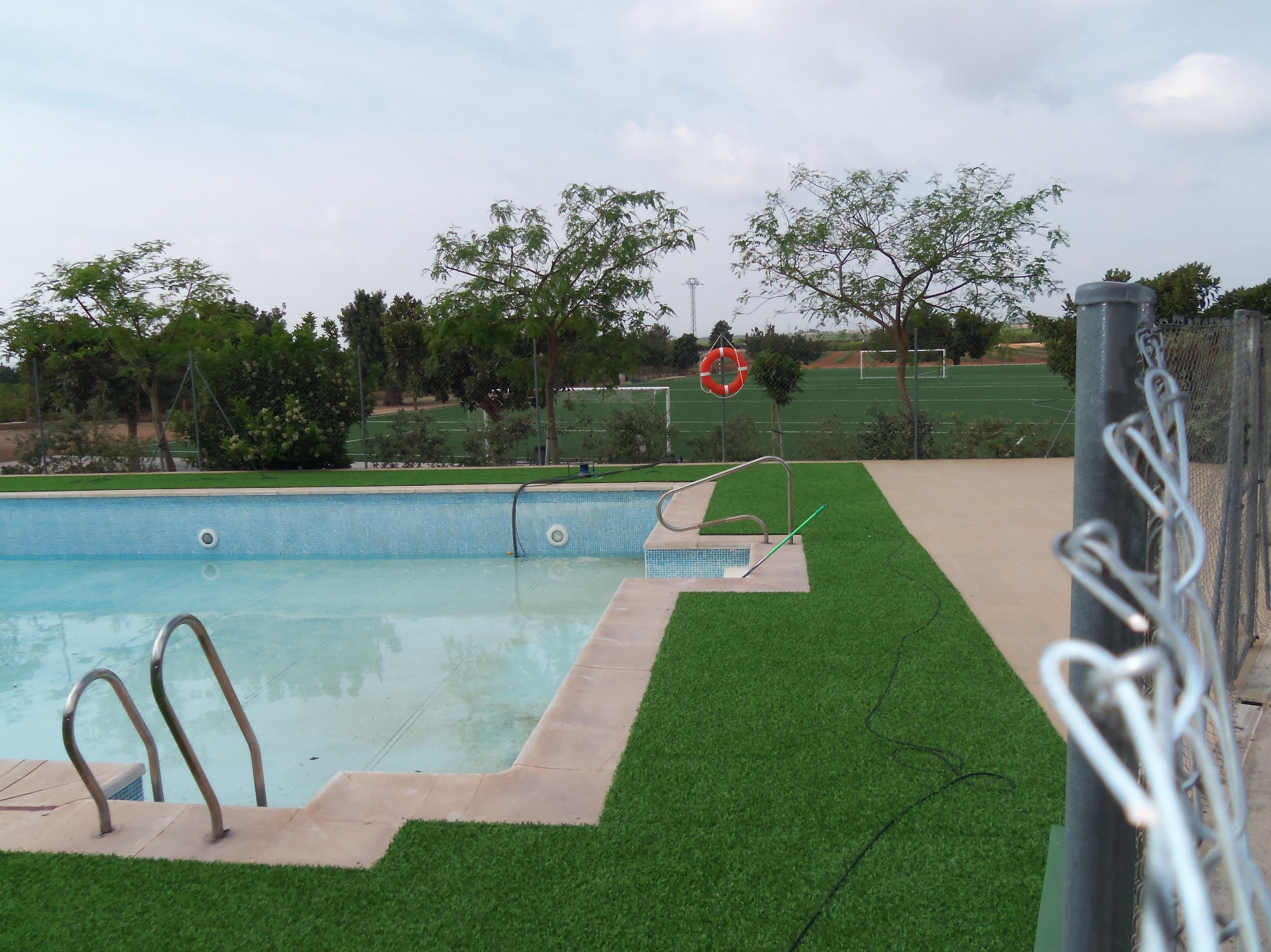 Proyecto Ches Pa piscina Colegio Alfinach - Después.......