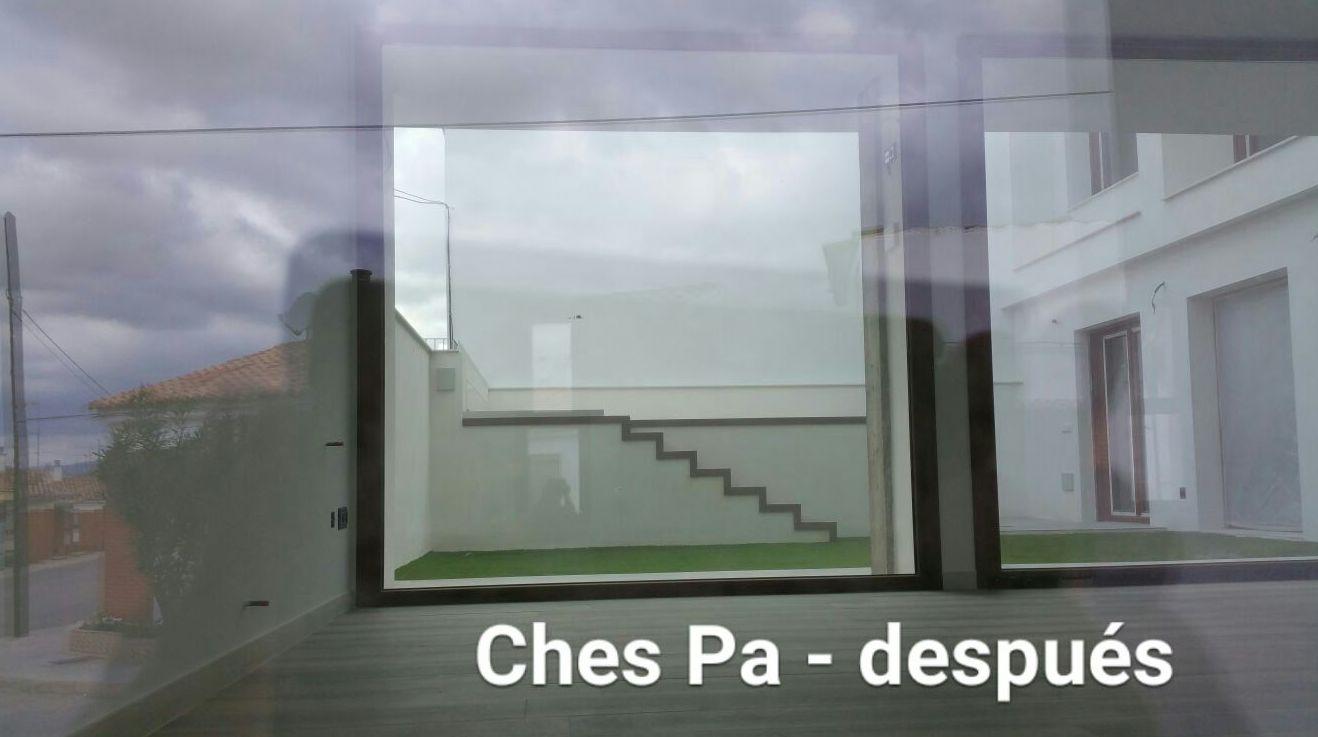 Proyecto Ches Pa en patio interior en vivienda particular en Valencia