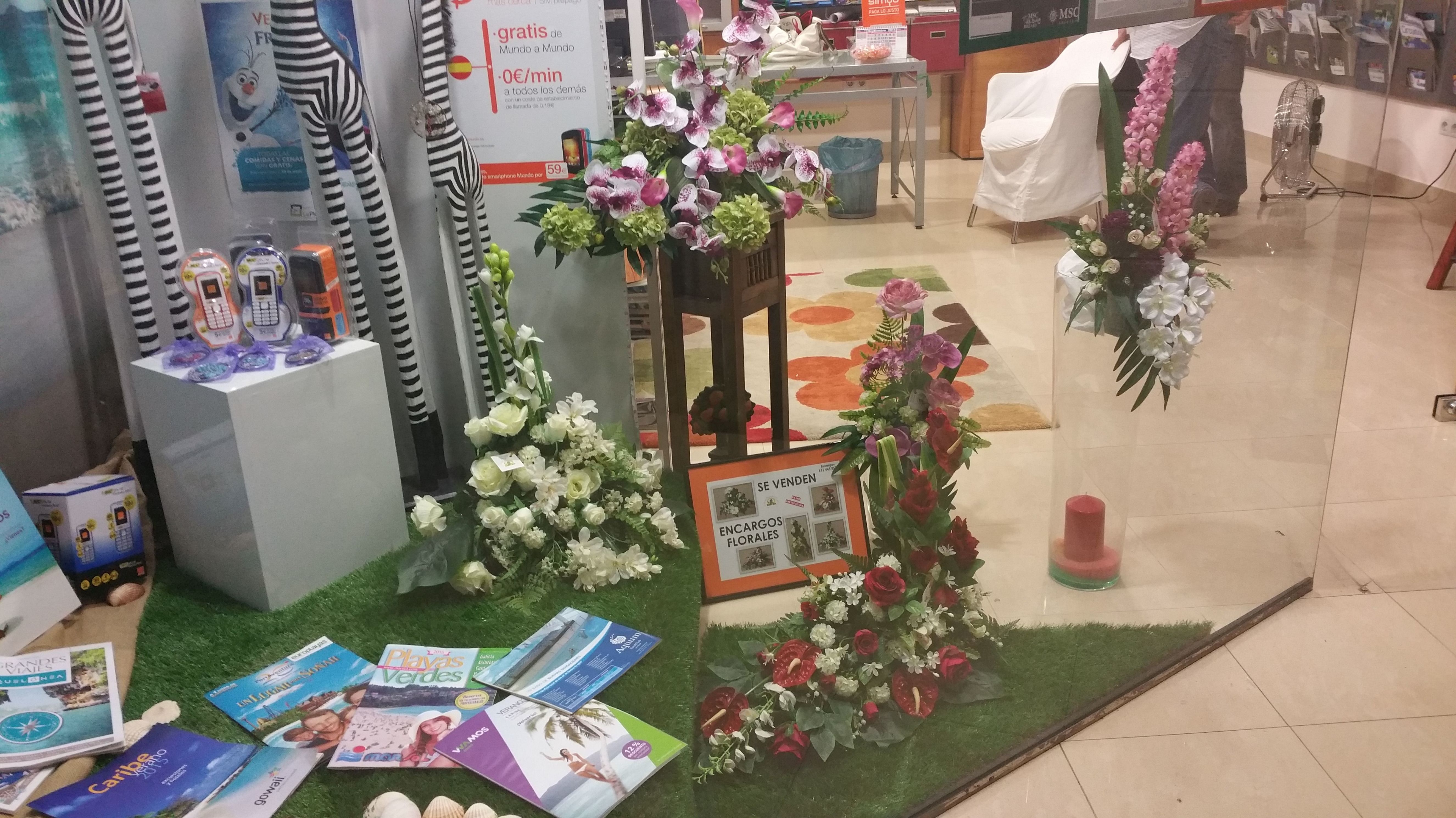 Flor Artificial encargos florales