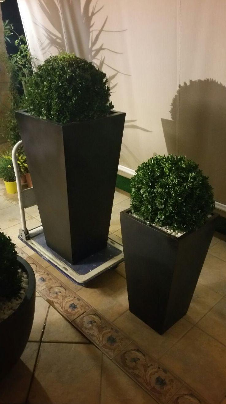 Montaje jardineras
