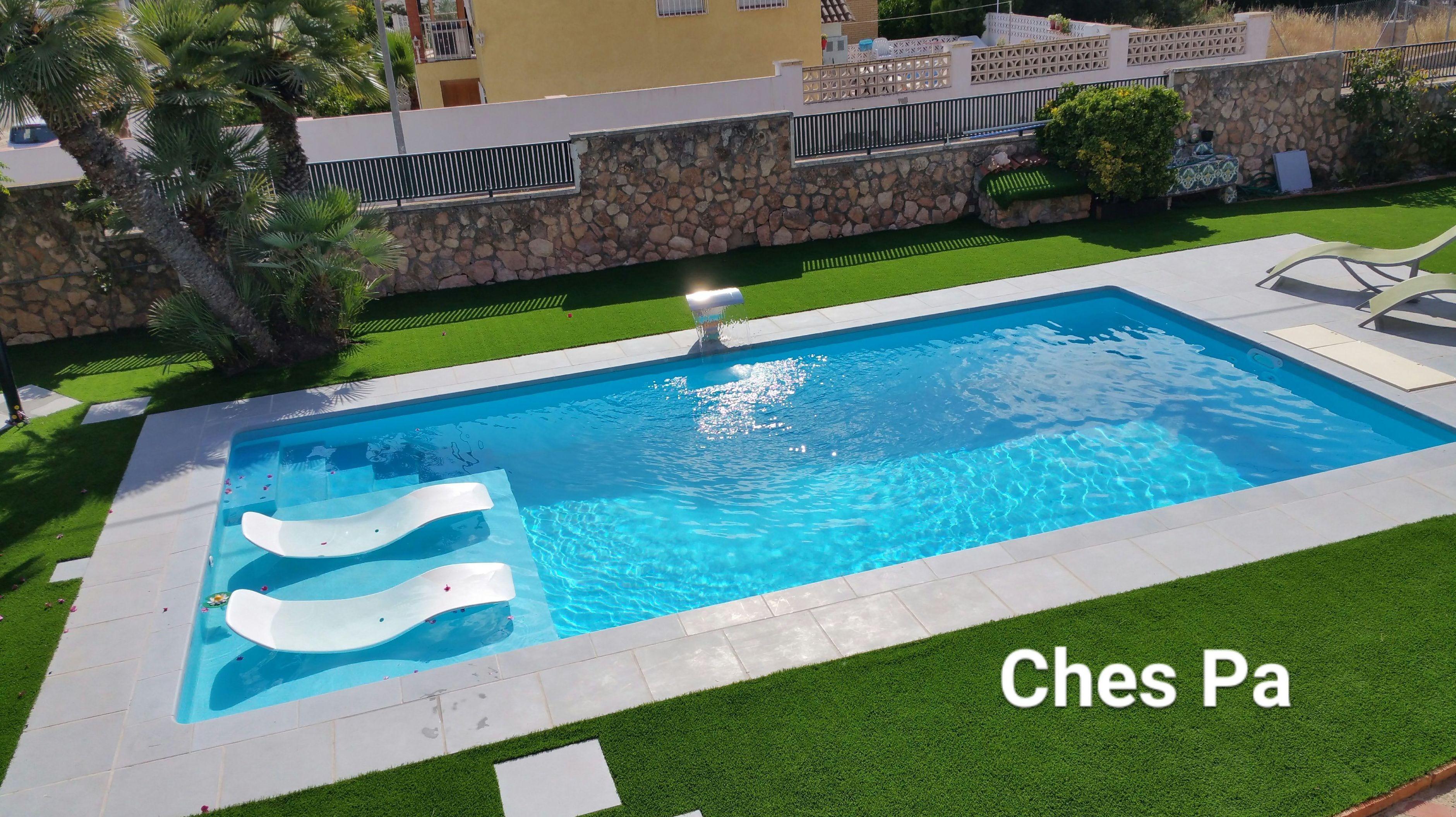Proyecto Ches Pa en jardín particular