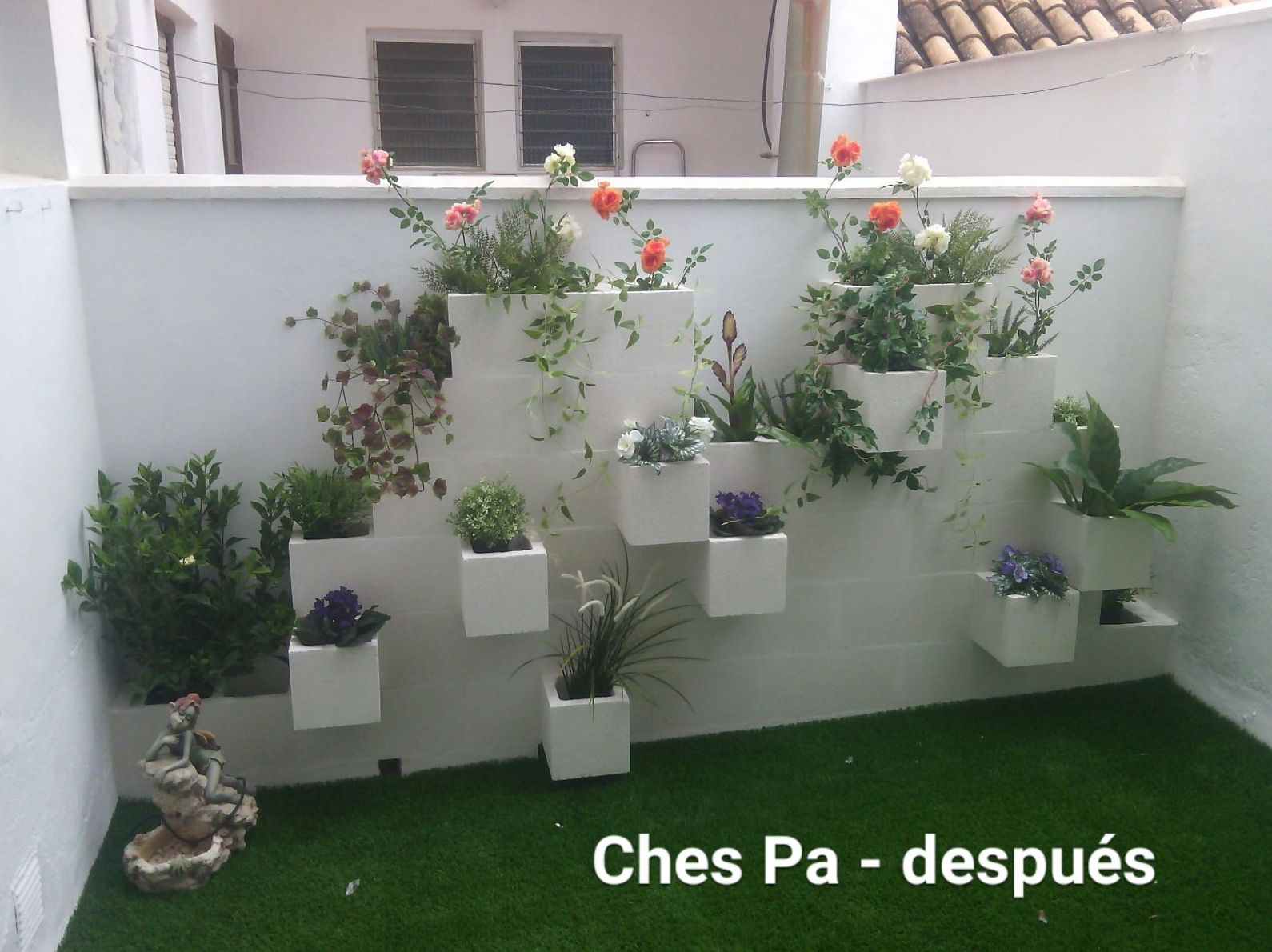 Proyecto en patio interior
