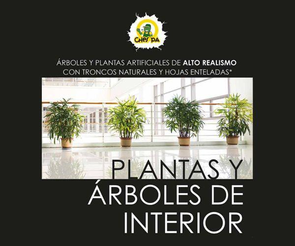 Venta y distribución de plantas y arboles, artificiales de interior: ¿Qué hacemos? de Ches Pa, S.L.