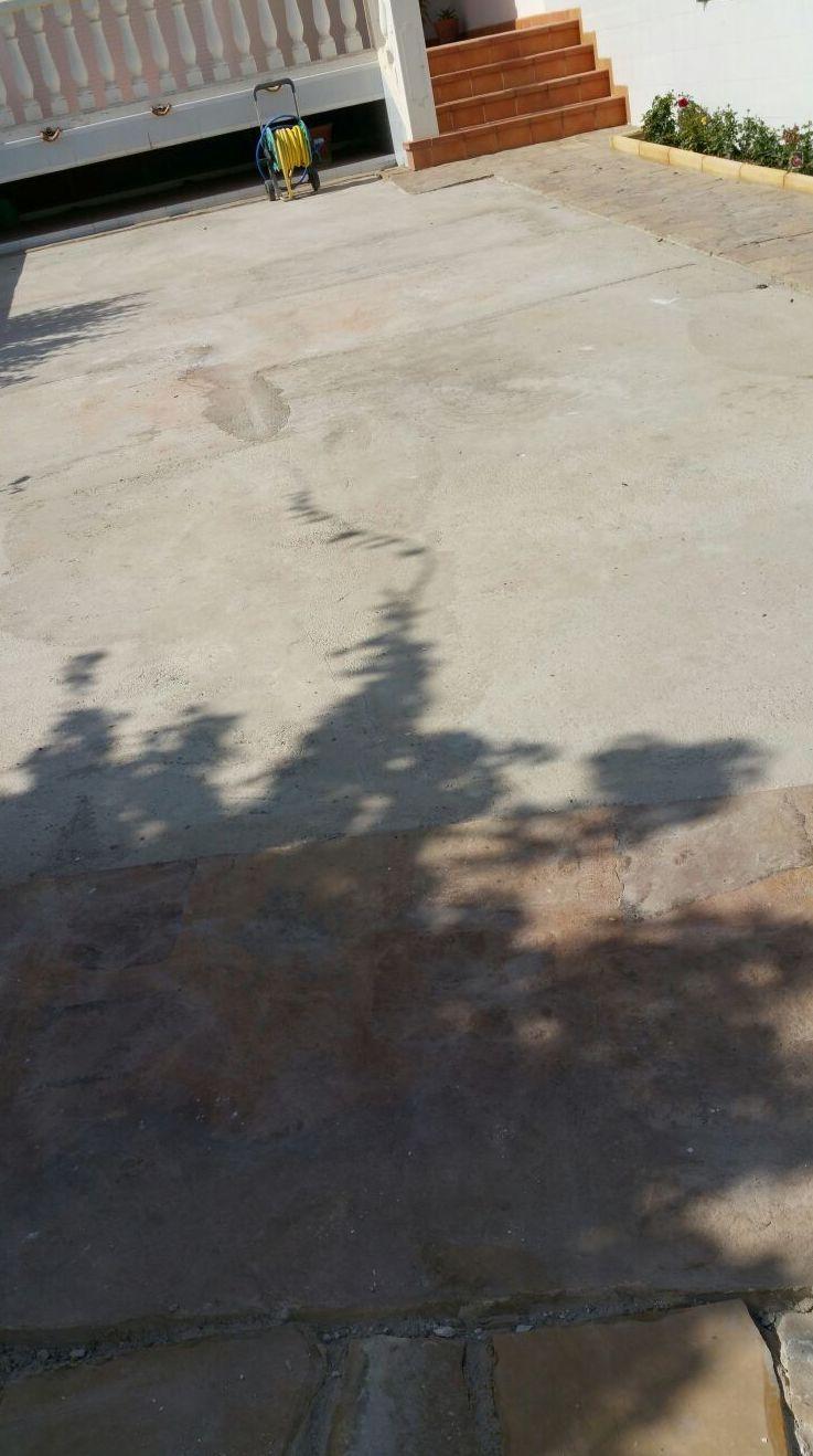 Proyecto Ches Pa sobre solera hormigón