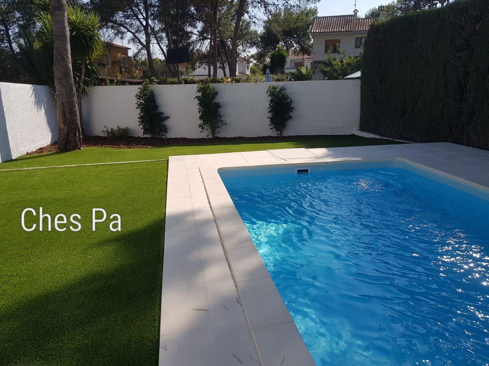 Proyecto integral en jardín particular