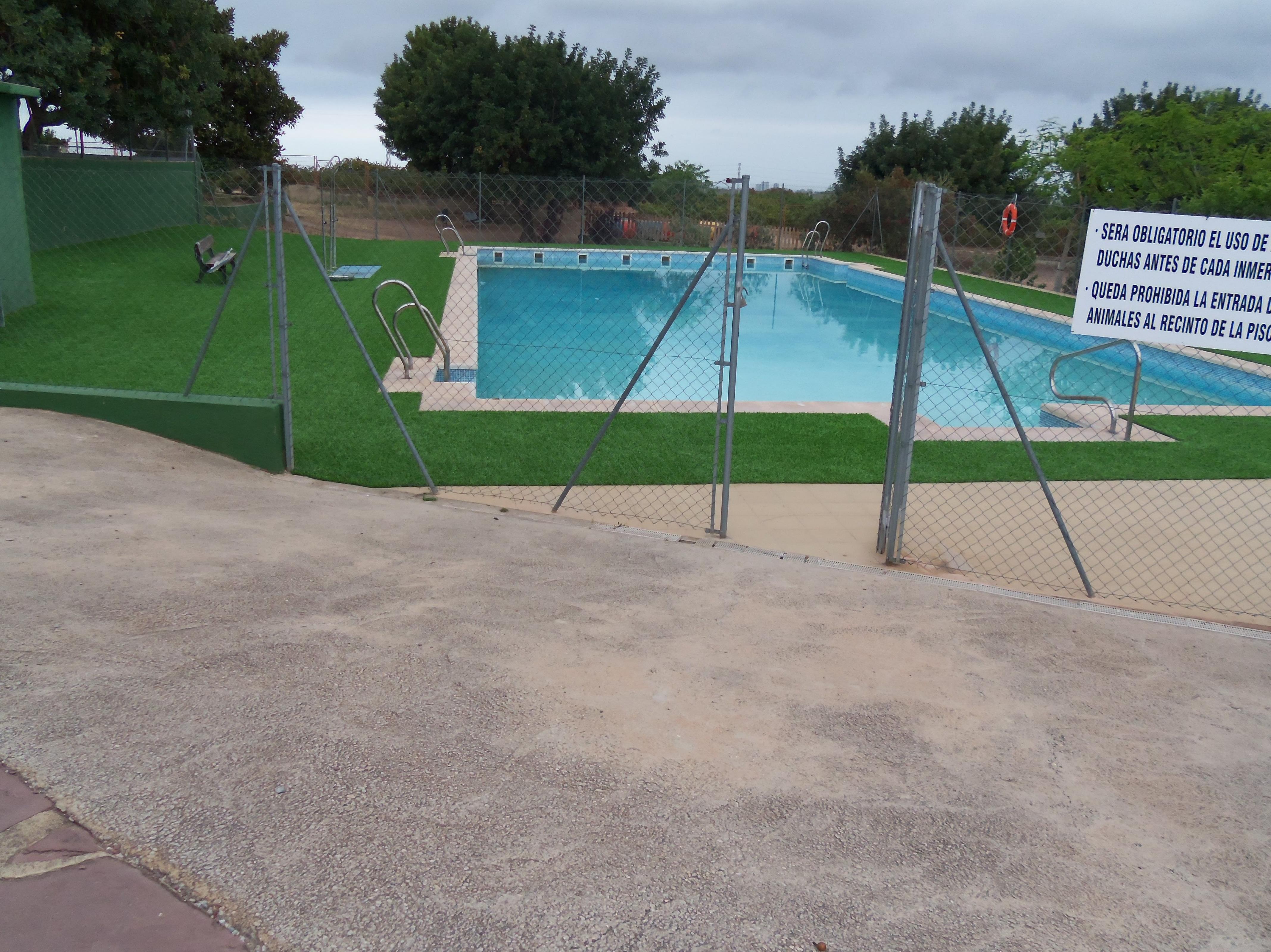 Proyecto Ches Pa piscina Colegio Alfinach - Déspues........