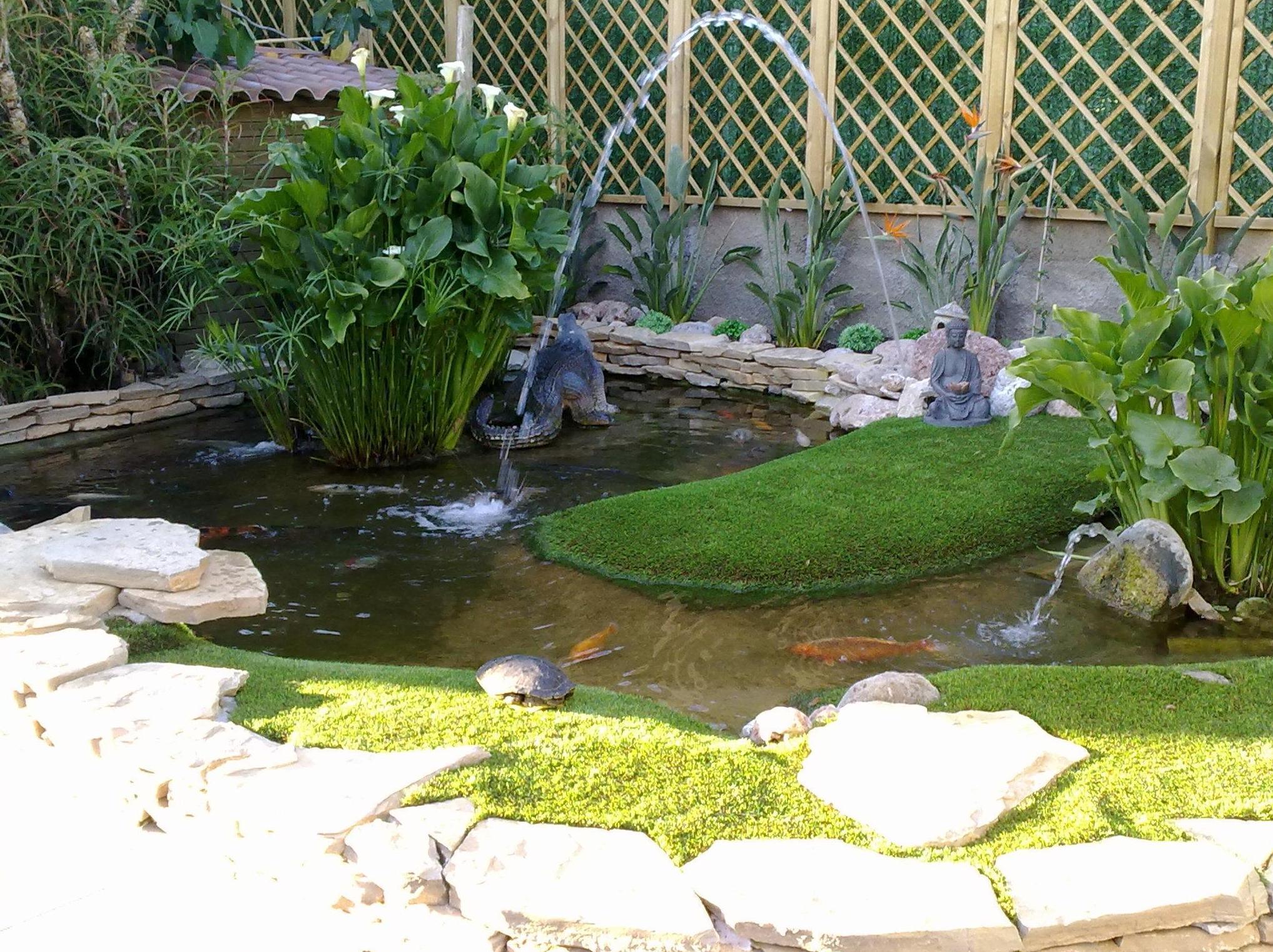Diseño de jardines con césped artificial Valencia Castellón