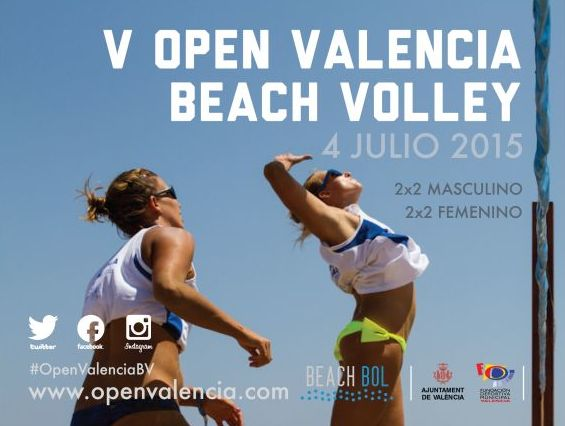 Ches Pa patrocinador un año más del V Open Valencia Beach Volley