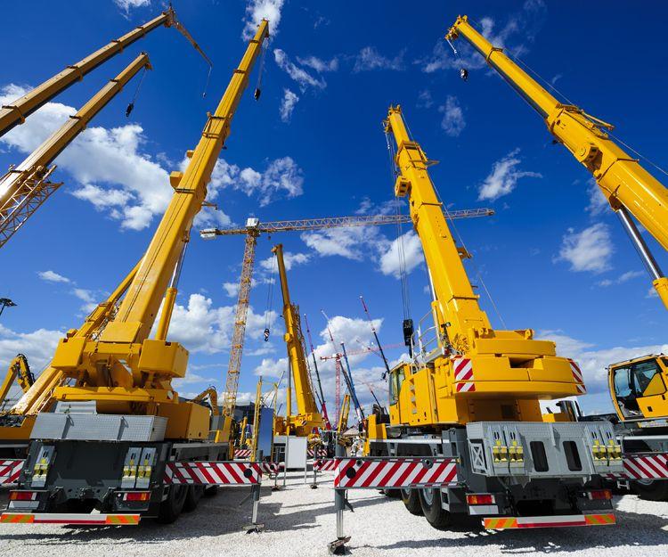 Grúas para construcción en Alicante