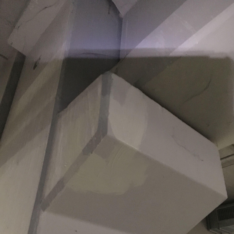 Ikea Valladolid, inyección de resina y reparación de vigas y pilares