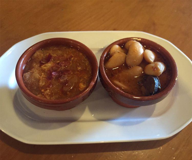 Degustación de sopa castellana y judiones del Real Sitio en Segovia
