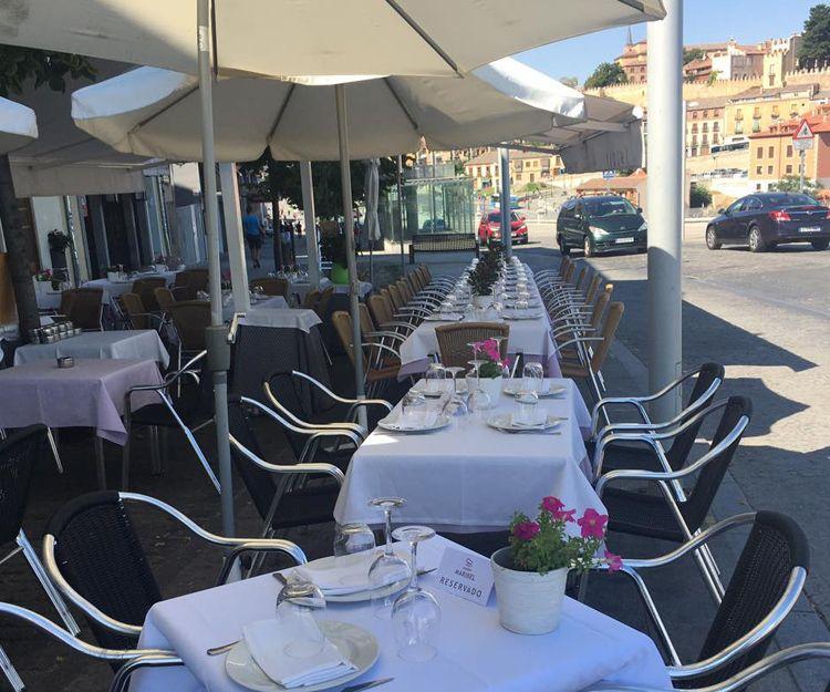 Restaurante asador con terraza en Segovia