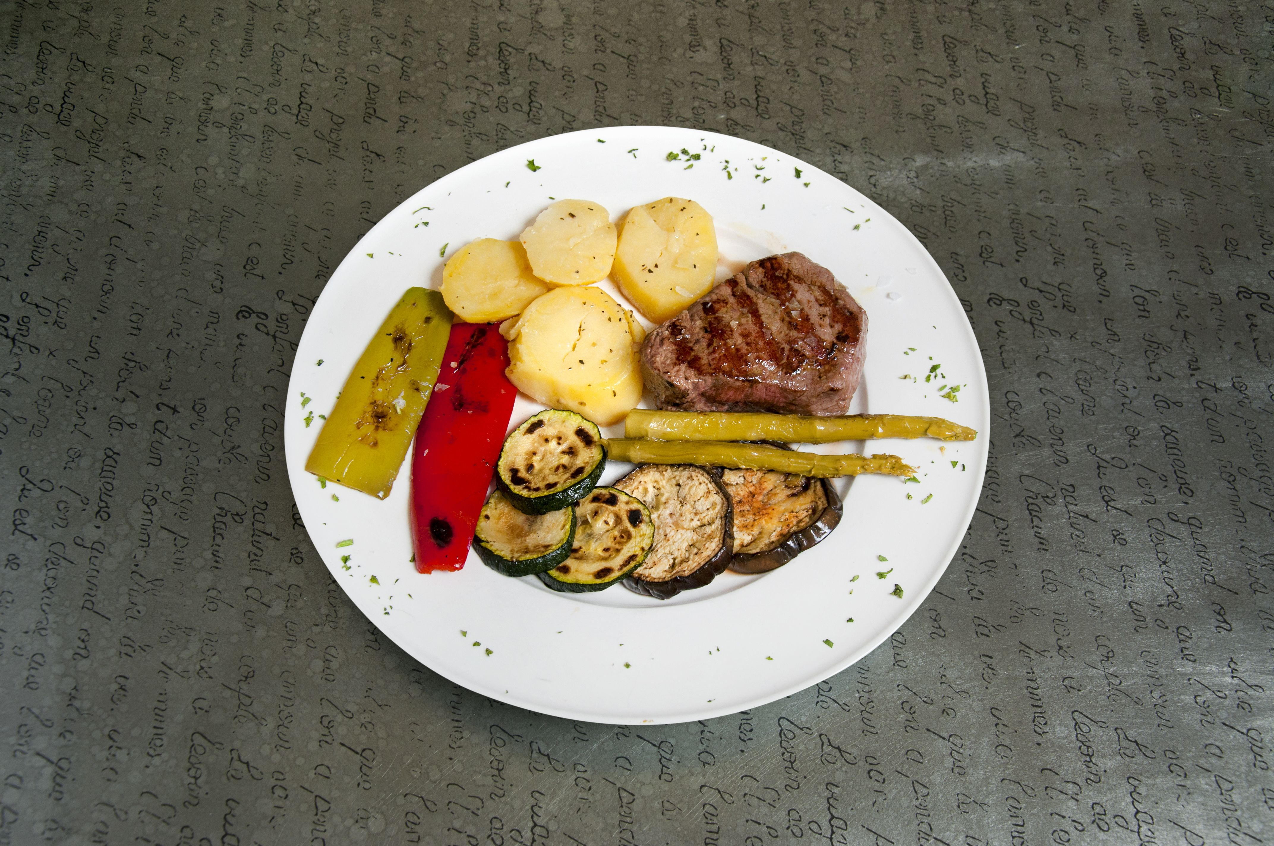 Carnes: Carta de Restaurante Robertinos