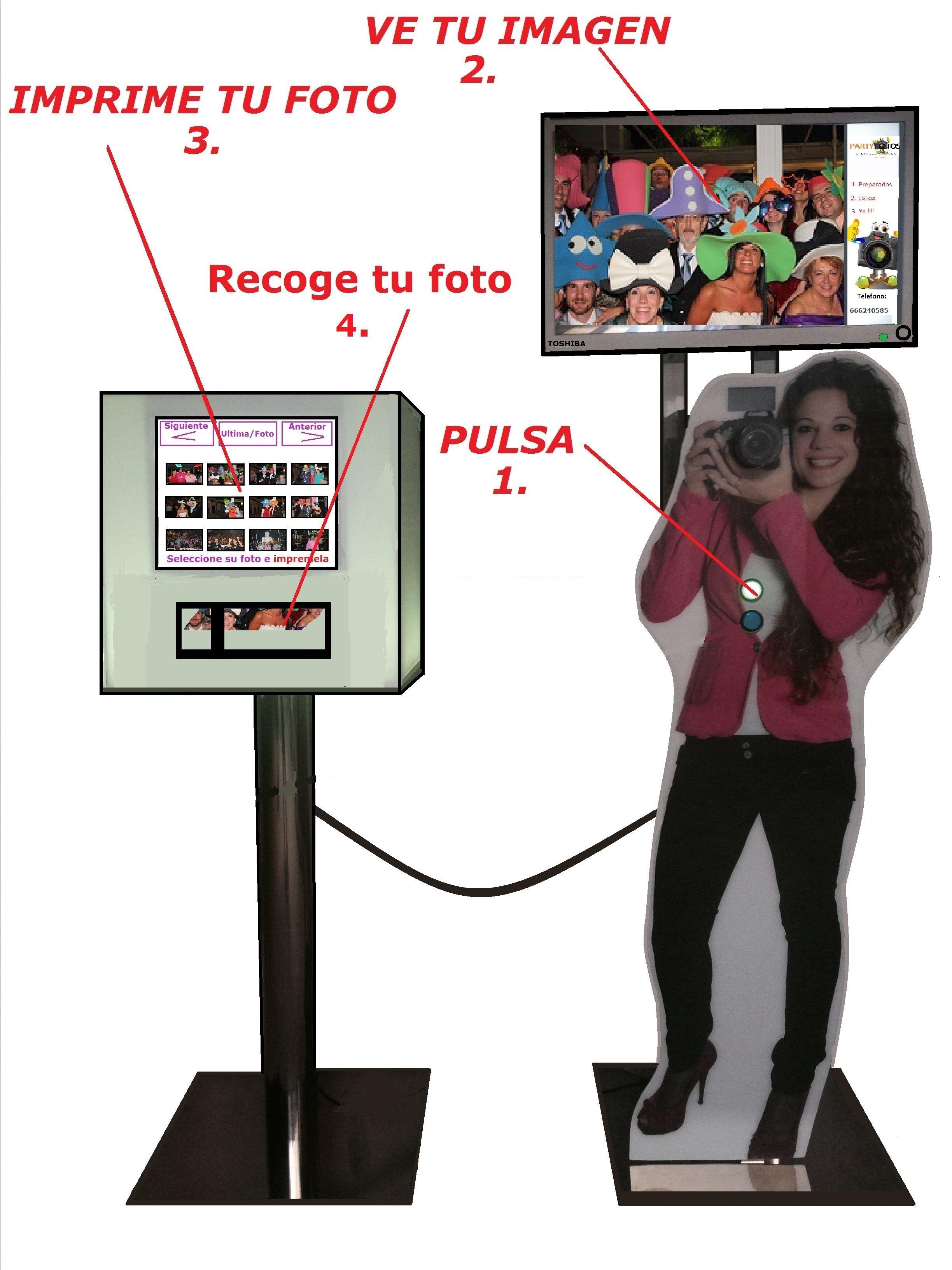 Fotomatón para eventos en Toledo