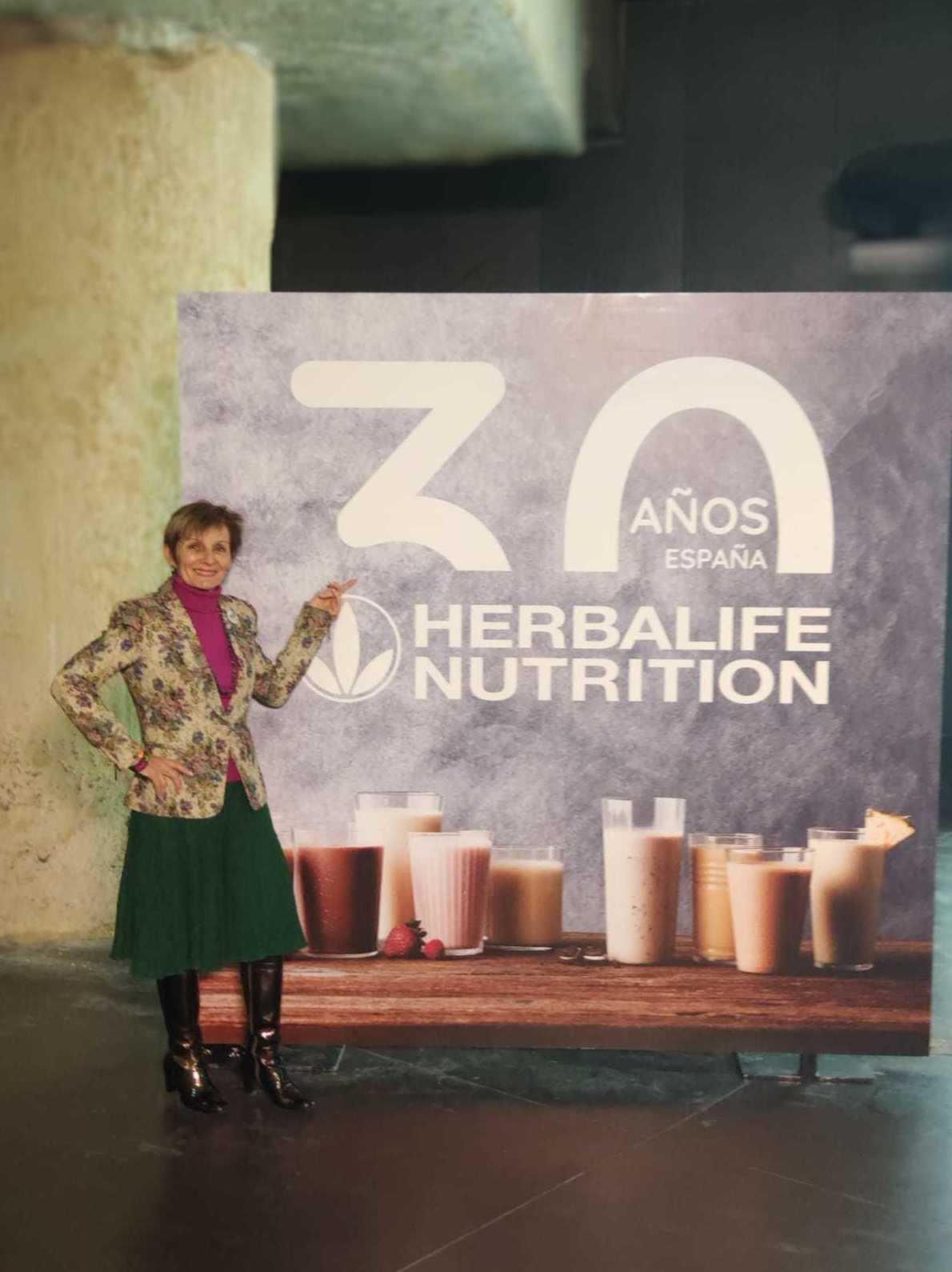 Herbalife Nutrición cumple 30 Años.