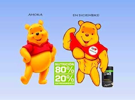 80% nutrición y 20% ejercicio