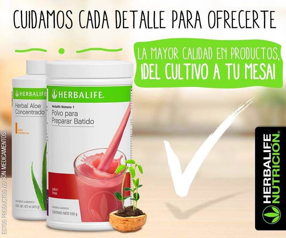 ¿Interesado en los productos de Herbalife?