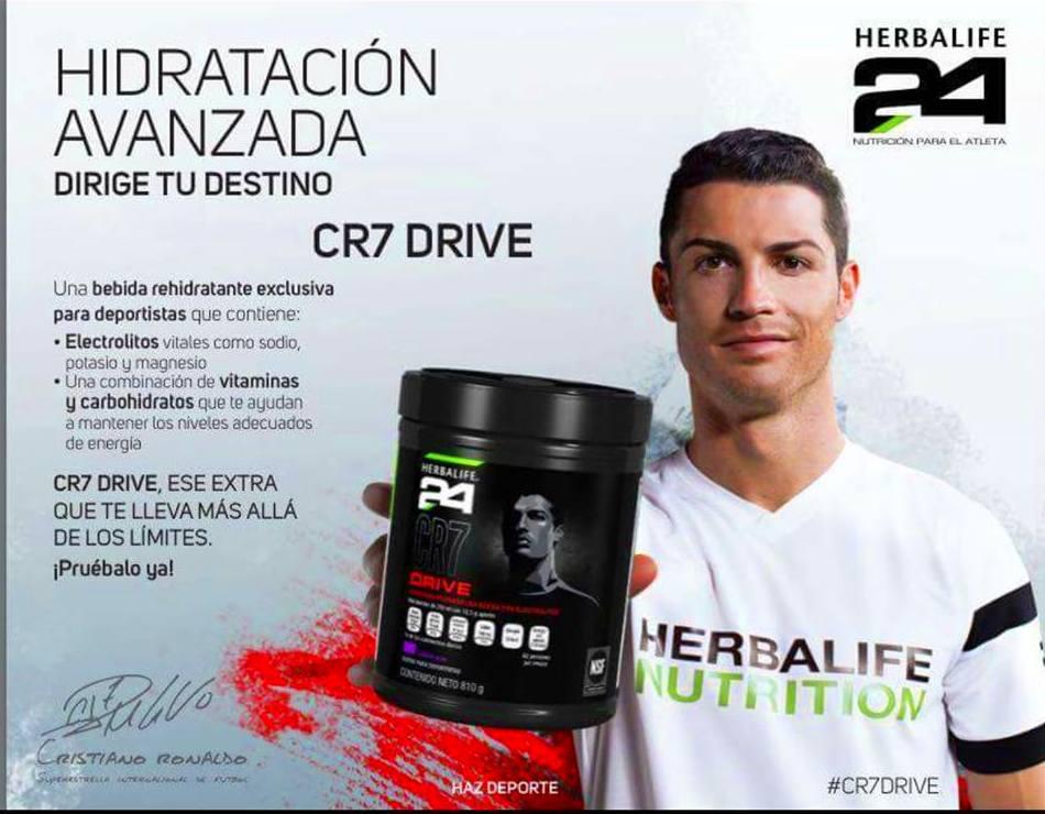 Bebida Hipotónica CR7 Drive de Herbalife24.