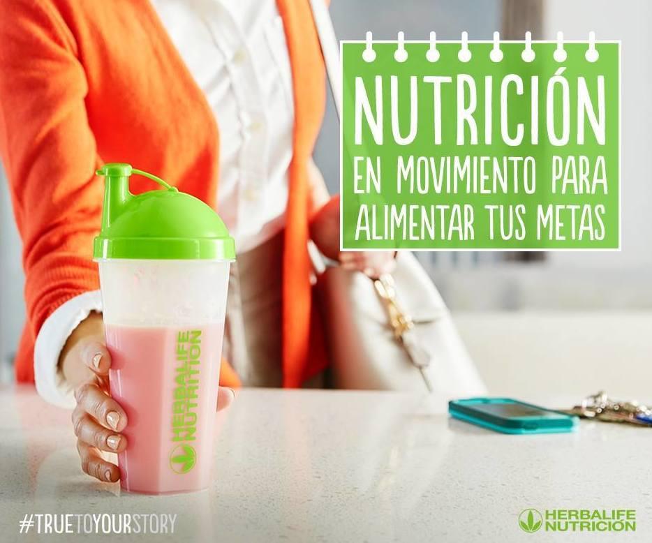 Nutrición en movimiento para alimentar tus metas.