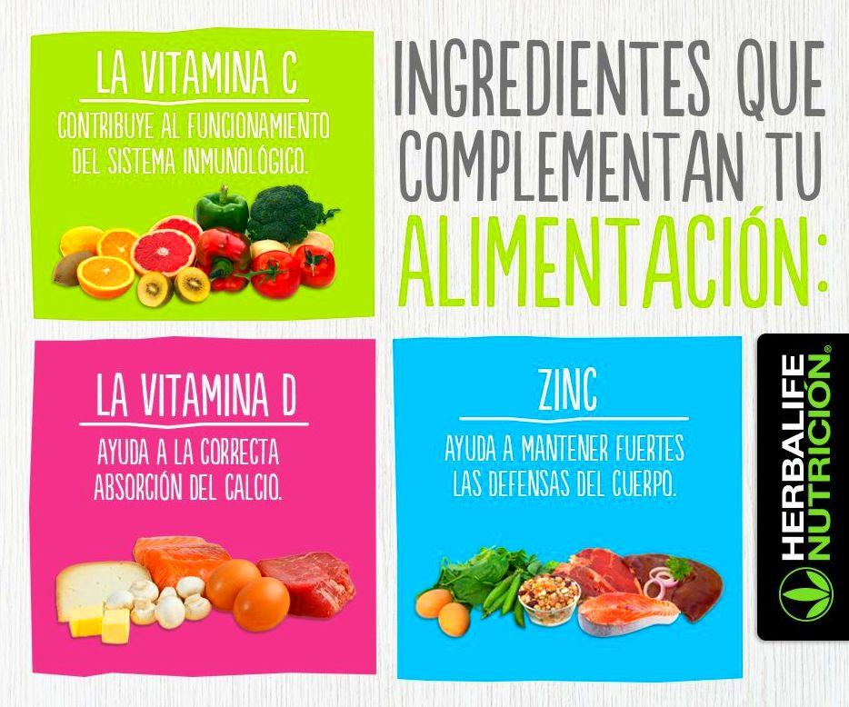 ingredientes que completan la alimentacion