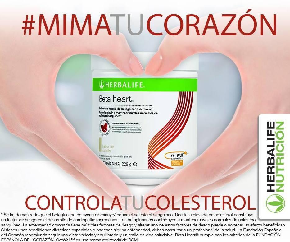 Controla tu colesterol: Mima tu corazón con Herbalife Nutrición