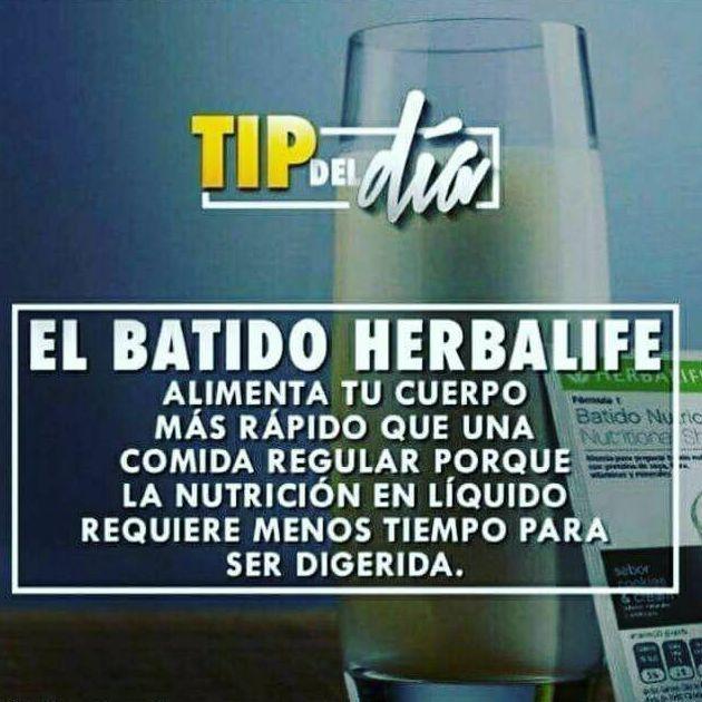 BATIDO HERBALIFE