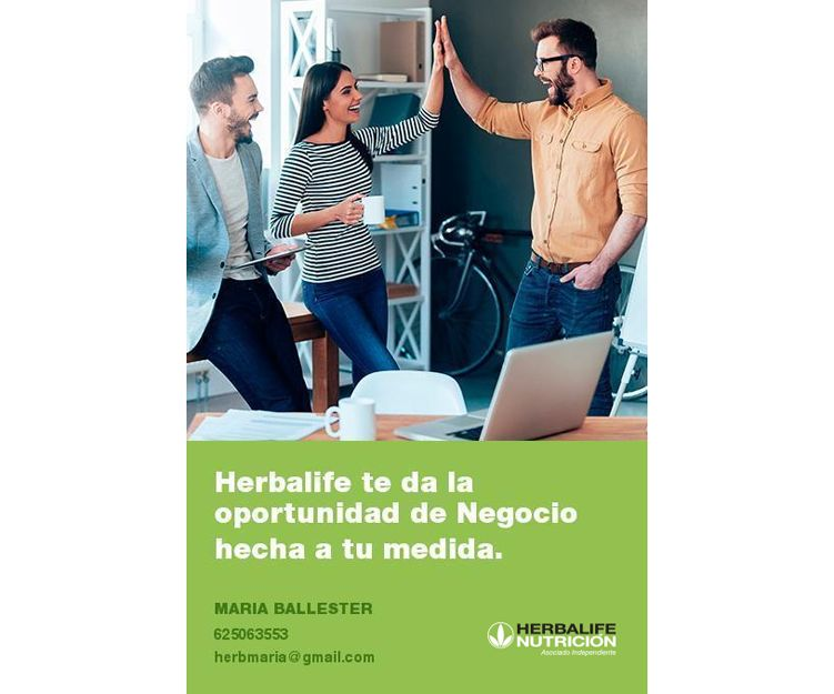 Hazte distribuidor independiente Herbalife en Mallorca