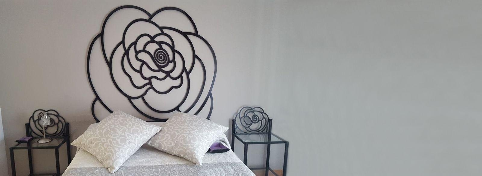 Cabecero forja Rosa: Catálogo de muebles de forja de Forja Manuel Jiménez