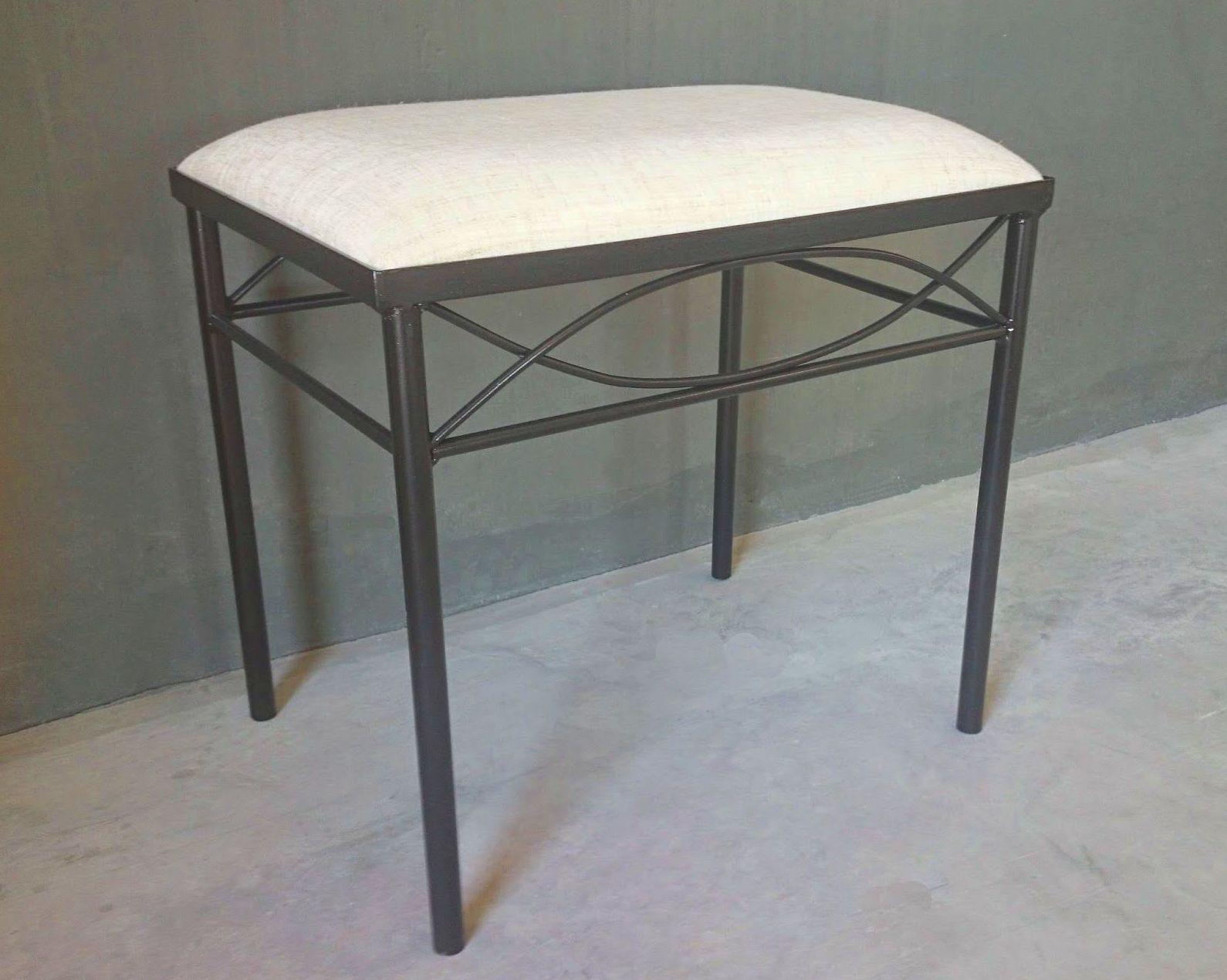Banqueta Lugo: Catálogo de muebles de forja de Forja Manuel Jiménez