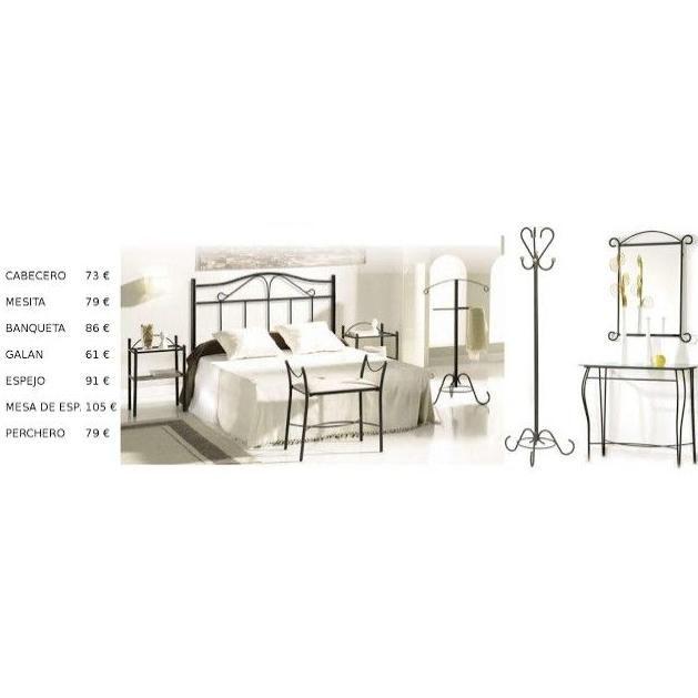 Dormitorio forja Cuenca: Catálogo de muebles de forja de Forja Manuel Jiménez